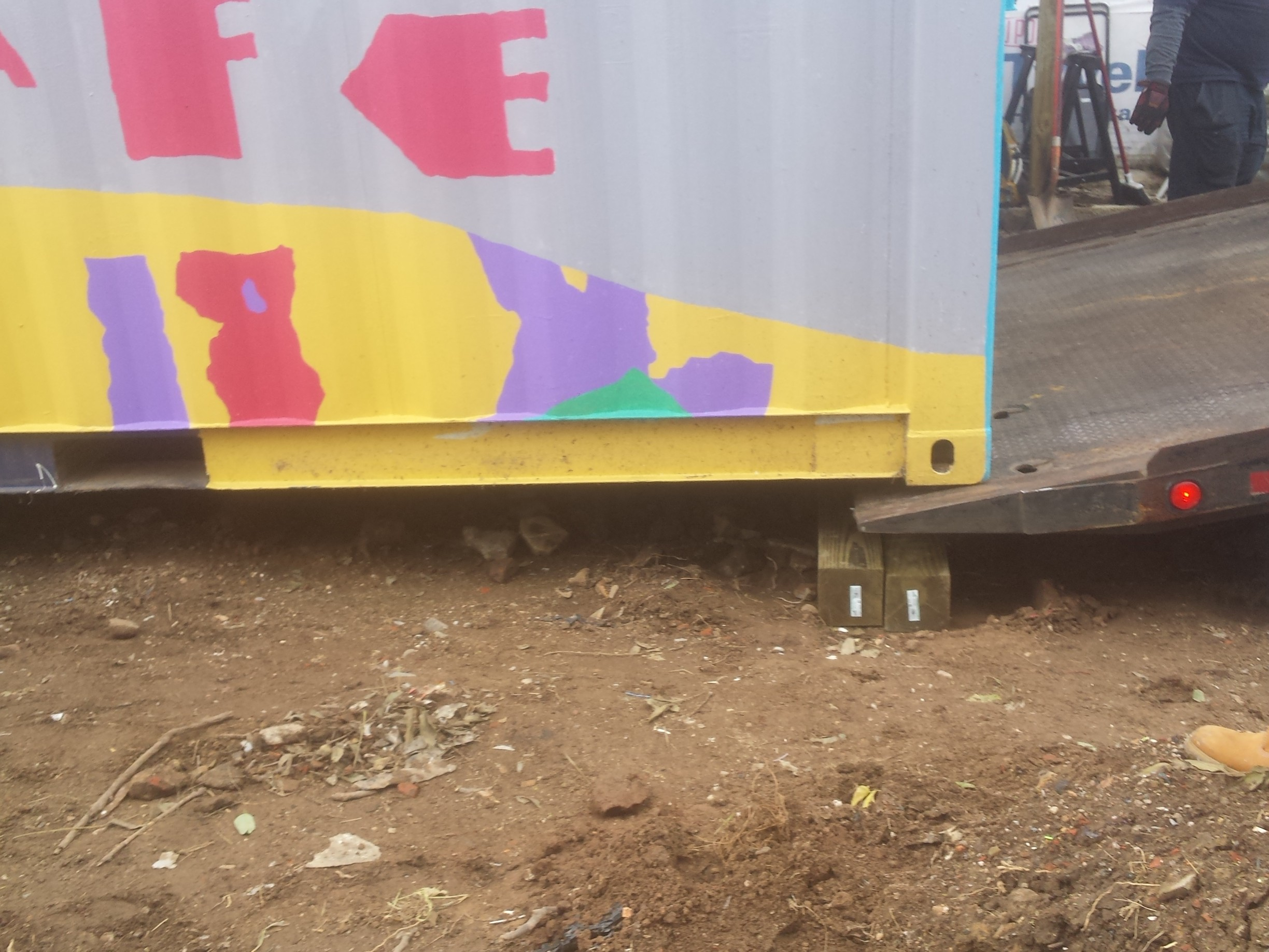 CohStra, Playgrounds, community hub, 632 Jackson Street, container, Mural Arts
