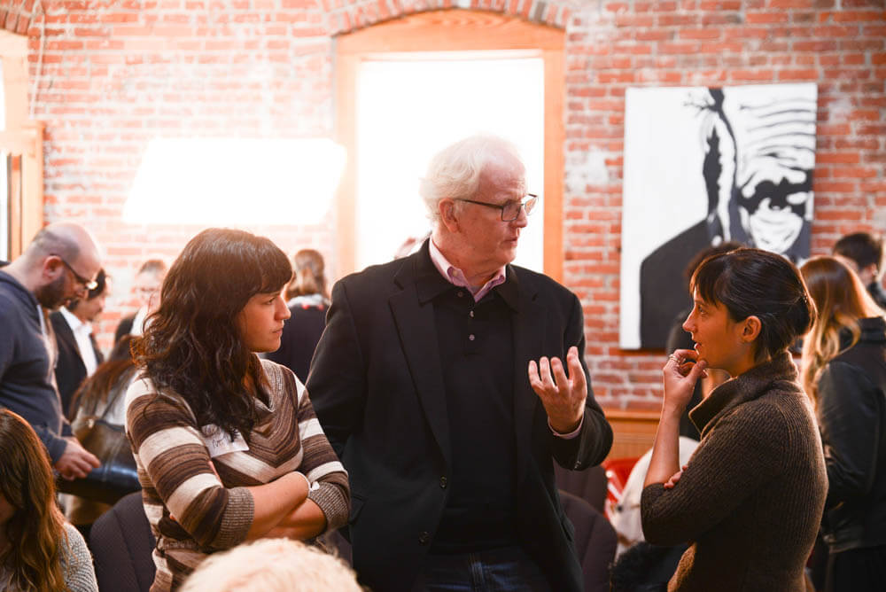 Conversations at the convening, photo by Michael Reali